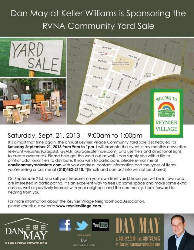 RVNA Yard Sale-s