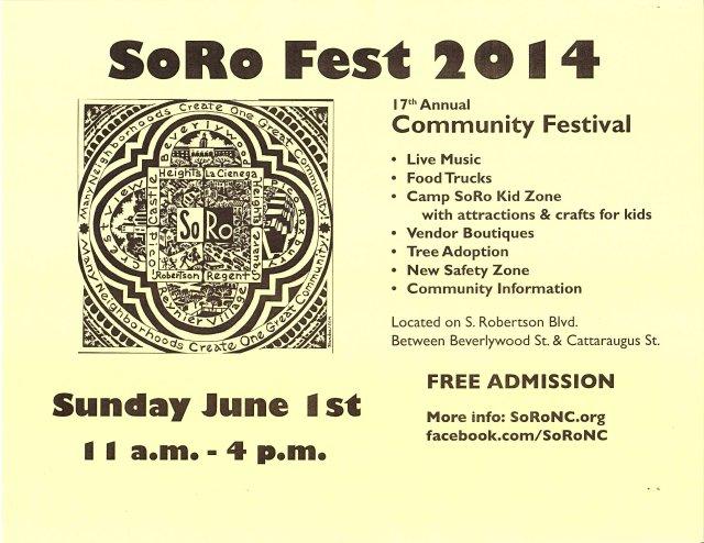 SORO Fest 14