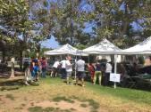 Ice Cream Social at Reyneir Park, Los Angeles, Ca on Sunday July 30, 2017.